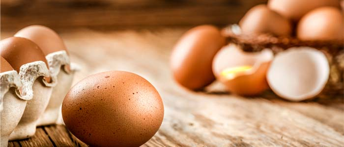 pile of high protein eggs