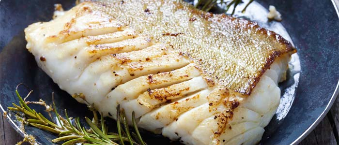 Cooked fish fillet