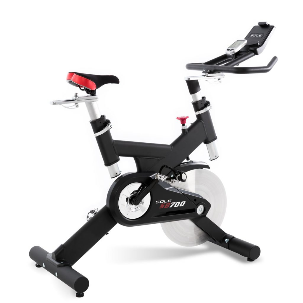 SOLE Fitness SB700 Light Commercial Upright Exercise Bike