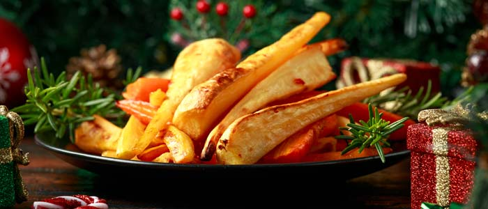 bowl of parsnips