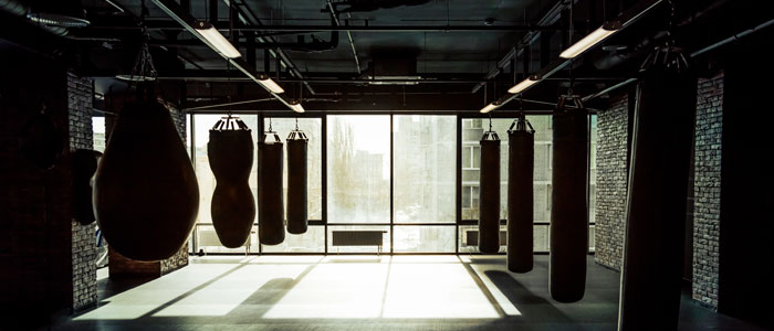 different types of boxing bags