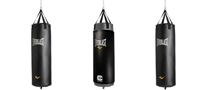 hanging boxing bags