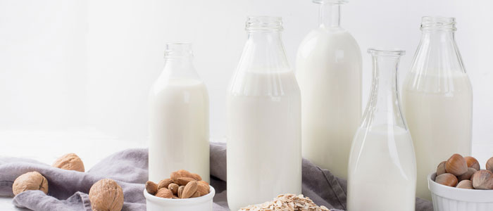 different types of milk