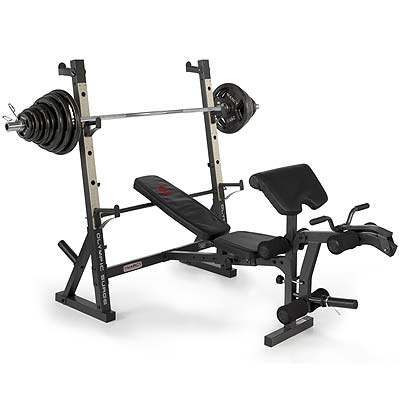barbell weight bench