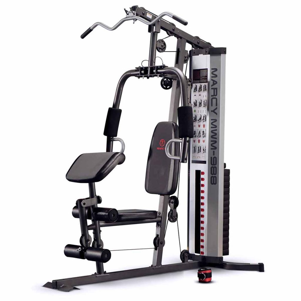 Marcy MWM-988 Home Multi Gym with 68kg Weight Stack
