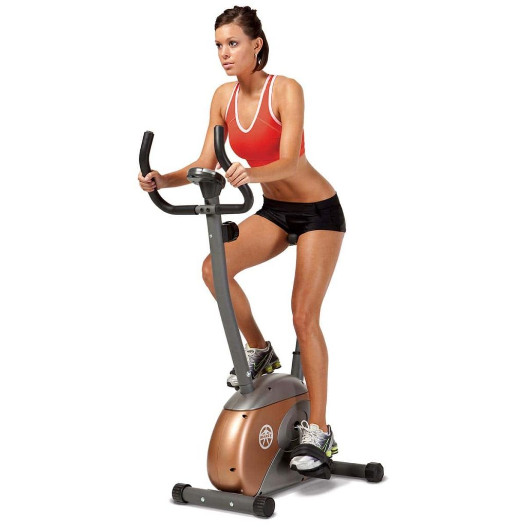 Marcy ME708 Upright Magnetic Exercise Bike