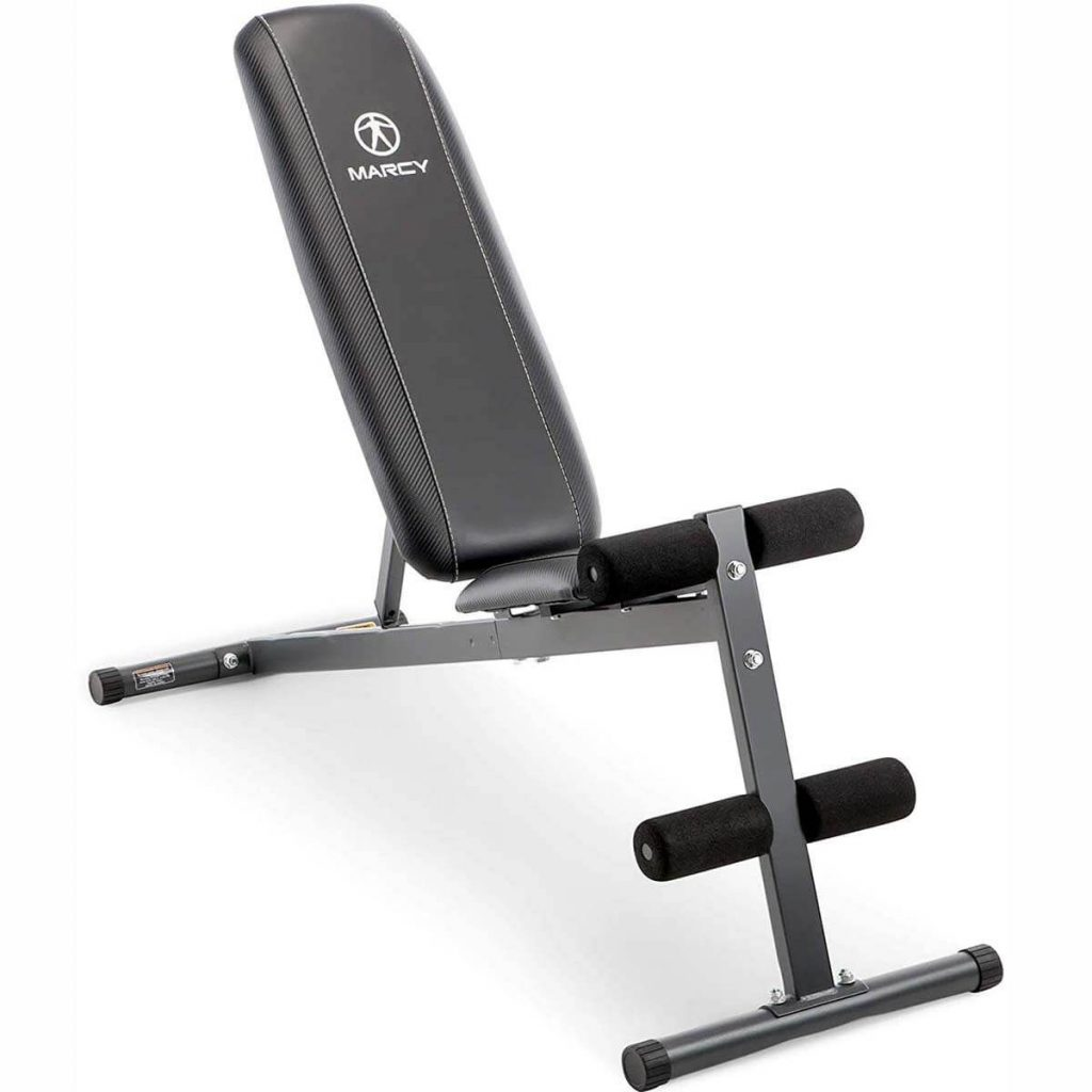 Marcy Utility Bench SB-261W for a garage gym