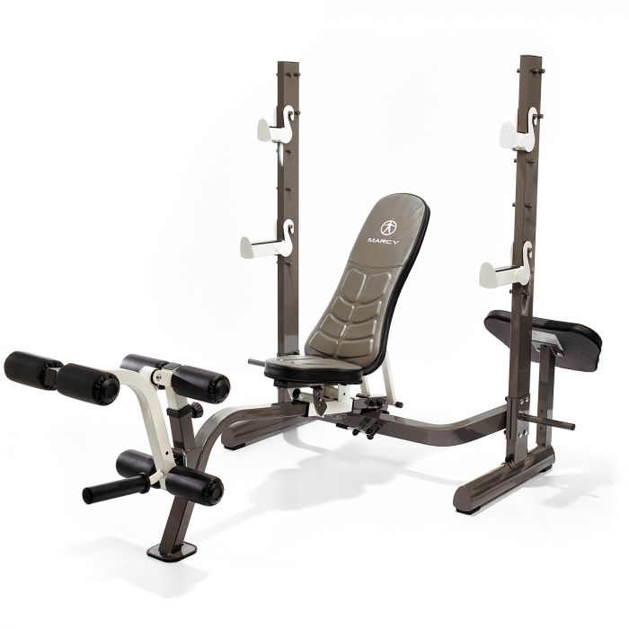 Marcy MWB 70205 Folding Olympic Bench with Weight bench and Rack