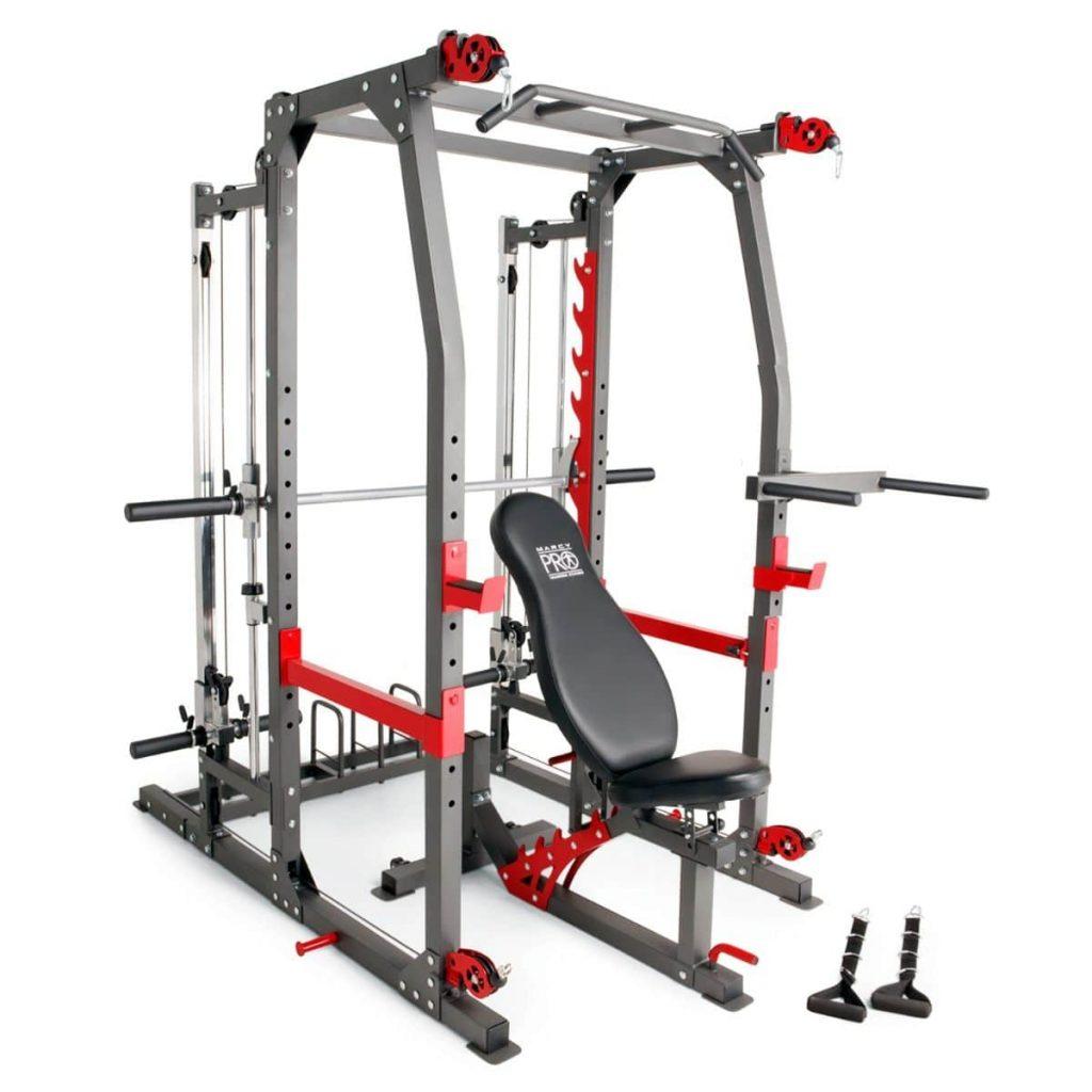 Marcy SM 4903 Pro Smith Machine Home Gym & Weight Bench