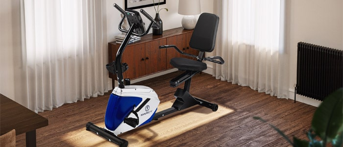 Marcy Azure RB1016 Recumbent Exercise Bike for weight loss