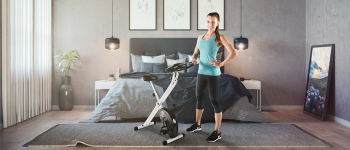 Marcy NS-652 Folding Upright Exercise Bike for weight loss